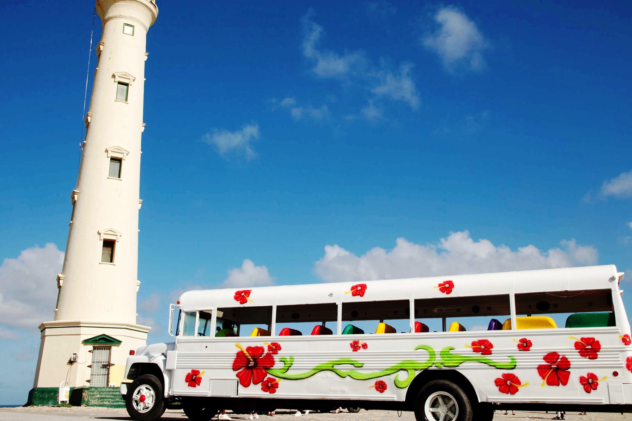 bus tour island discover