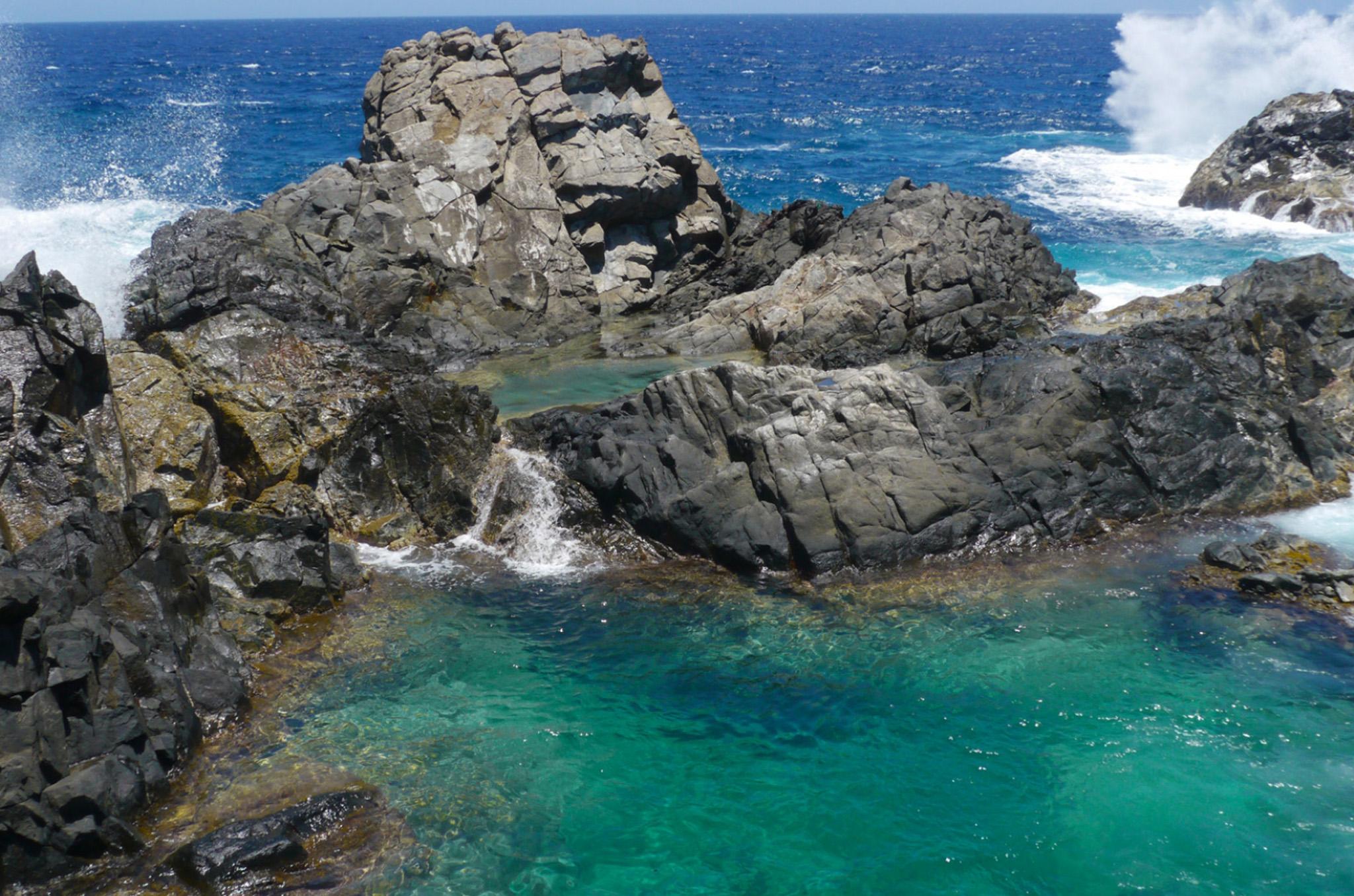 natural pool aruba destinations
